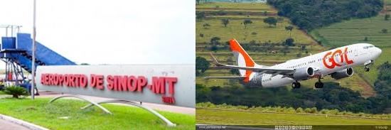 GOL começa em novembro operar com Boeing na rota Sinop-São Paulo